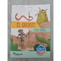 Livro El Quijote Para Niños. Nuevo Recreo Santillana Español