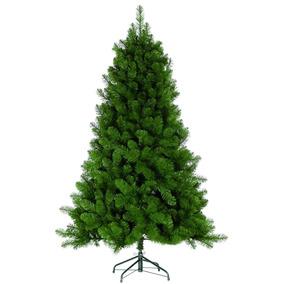 Árvore Natal Pinheiro Gigante Imperial Verde 1,50m 550 Galho