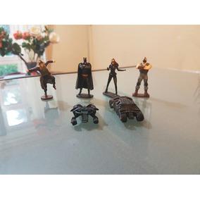 Mini Figuras Coleccion De Batman Huevo Tipo Kinfer + Regalo