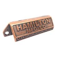 Manija Tirador Cubeta Hamilton Vintage Cajon Cobre X 10 Uni