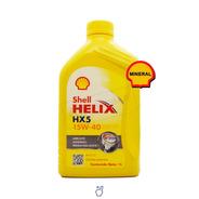 Aceite De Motor Shell Helix Hx5 15w40 - Mineral X 1 Litro