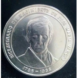 Moneda De Plata Jose Maria Vargas 1786-1986 Bicentenario