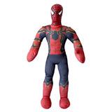 Muñeco Soft Spiderman Licencia Original New Toys 55 Cm