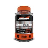 L-carnitina Com Cafeína - Adrenalin 60 Cápsulas - New Millen