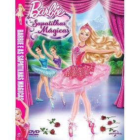 Dvd - Barbie E As Sapatilhas Mágicas