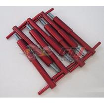 Wing Nut Motor Gm Opala 4cc / 6cc Alumínio Vermelho