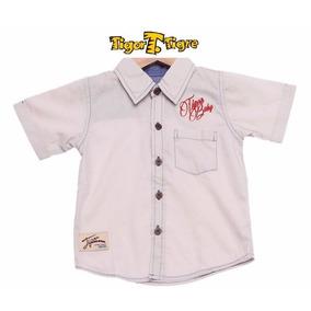 Camisa Casual Bebê Tigor T. Tigre Baby - Tam. 1p 2p 3p