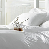 Sabanas Blancas Para Hoteles Matrimonial / Individual /queen