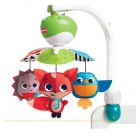 Móvil Musical Para Bebé Animales 3 En1 Tinylove