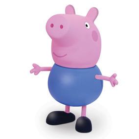 Boneca Em Vinil - 15 Cm - Peppa Pig - George - Elka