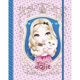 Caderno Argolado Cartonado Com Elástico Jolie Tilibra