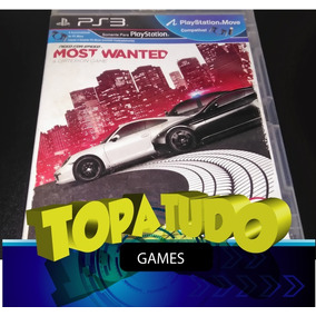 Need For Speed Most Wanted Jogo Playstation 3 Ps3 Seminovo