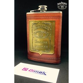 Whisky Caminera Jack Daniel´s /cuero/ 9oz/ (special Edition)
