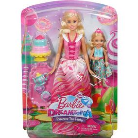Barbie E Chelsea - Dreamtopia - Festa De Chá - Mattel