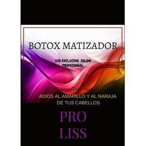 Alisado (no) Botox Matizador Pro Liss.!!!