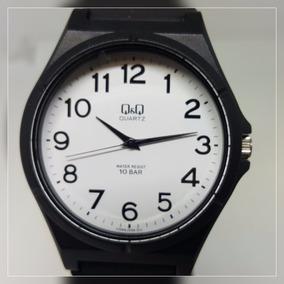 Relógio Masculino Feminino Borracha Grande Com Números Q&q