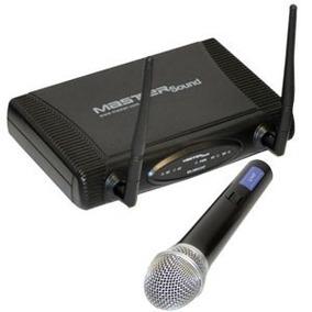Sistema Profesional De Microfono Inalambrico Uhf 60 Metros