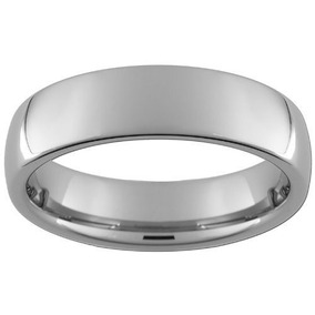 Tb Anillo Gay 6 Mm Comfort Fit Tungsten Carbide Domed Ring,