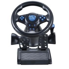 Volante Racer Marcha Câmbio Pedal Js073 Ps2 Ps3 Pc Multilase