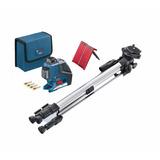 Nivel Laser 3 Lineas Gll 3-80 P Bosch 360 Gra Tripode Bs150