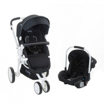 Coche Compass Plus Kiddy Estructura Blanca