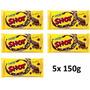 05 Tabletes Chocolate Shot 150g - Lacta - Menor Preço!