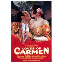 Lienzo Tela Cartel Película Loves Of Carmen Dolores Del Río