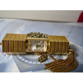 b010cfdced5 Relogio Antigo Bucherer Ouro 750 Feminino Romanos Leil O - Relógios ...