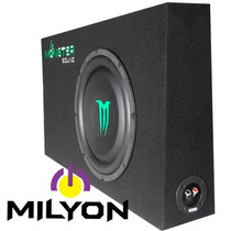 Subwoofer Monster 12 Extra Chato - Cajón Slim 1000w