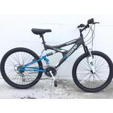 Bicicleta Ozone Rodada 24 De 18 Velocidades