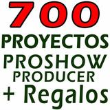 Proyectos Retrospectivos Animados Proshow Producer + Regalos