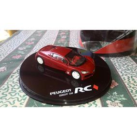 Carro Vehículo Peugeot Rc Escala 1:43 Marca Concept Car