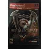 Playstation Ps2 Mortal Combat Deadly Alliance Videogame