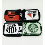 Carteira De Times Palmeiras São Paulo Santos Flamengo P/ Uni