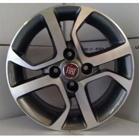 Jogo De Rodas Fiat Mobi Aro 14 R77 Uno Siena Palio Strada