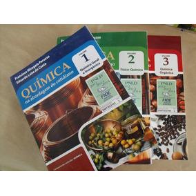 Coleçao Quimica Na Abordagem Do Cotidiano 3 Vol Otimo Estado