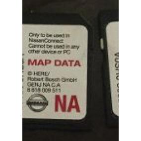 Mapa De Usa Gps Nissan Altima X-trail Sentra Tarjeta Sd Card