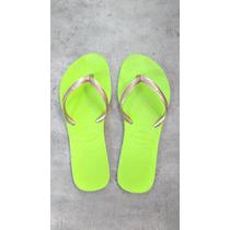 Ojotas Havaianas Originales Slim Flat Eur37/38 Brasil 35/36