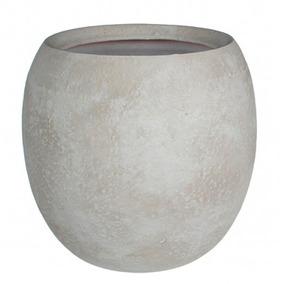 Matero Vera Redondo Concreto Blanco