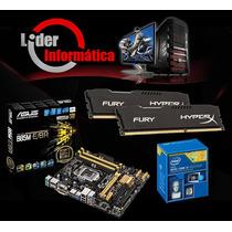 Kit Placa Mãe Asus + Intel I5 + 16gb Memoria Promoção Hoje!*