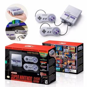 Mini Super Nintendo Clássico + 100 Jogos Imperdível !!