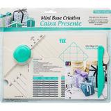 Kit Com 4 Mini Bases Criativa Toke E Crie