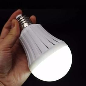 6x Lâmpada Led De Emergência Inteligente Smart Bulbo 12w E27