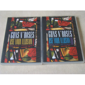 Lote Dvds - Guns ´n Roses - Use Your Illusion 1 E 2