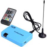 Receptor Tv Dvb-t Isdb-t Stand-alone Lcd Caja Azul