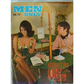 Revista Xxx Men Only June 1966 No Playboy No Sex Vintage
