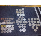 71 Moédas Cruzeiro,cruzados,centavos Apartir De 1949 Coleção