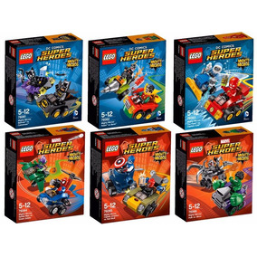 Lego Super Heroes Marvel Mighty Micros Varios Modelos