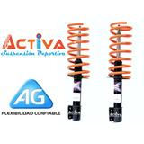 Espirales Ag Xtreme Fiat 128 + Amortiguadores Cortos Recambi