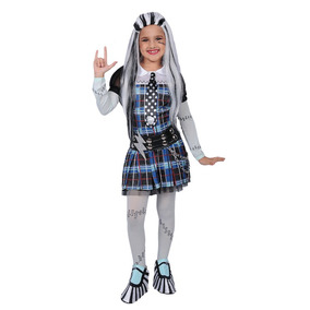 Disfraz Monster High Frankie Talla 4 (sin Peluca)